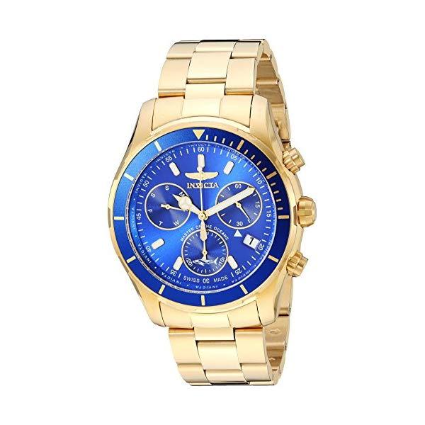インビクタ 腕時計 INVICTA インヴィクタ 時計 プロダイバー Invicta Men's 'Pro Diver' Quartz Stainless Steel Casual Watch, Color:Gold-Toned (Model: 26056)