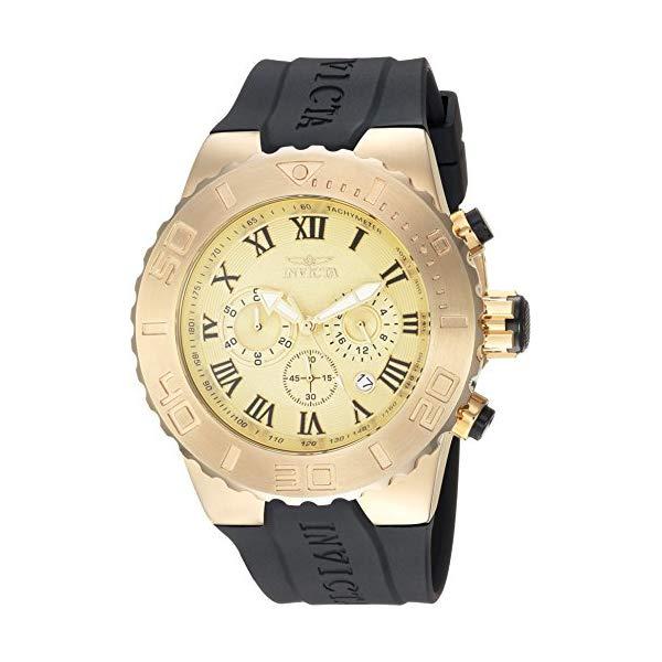 インビクタ 腕時計 INVICTA インヴィクタ 時計 プロダイバー Invicta Men's 'Pro Diver' Quartz Stainless Steel and Polyurethane Casual Watch, Color Black (Model: 24844)