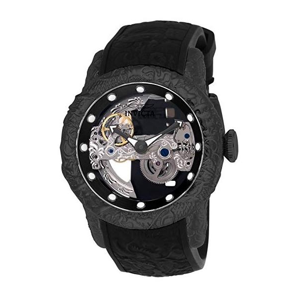インビクタ 腕時計 INVICTA インヴィクタ 時計 エスワン ラリー 26286 - INVICTA S1 Rally Men 50mm Stainless Steel Black Black dial LG0801B Automatic