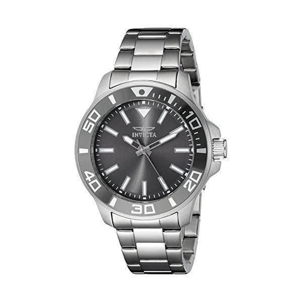 インビクタ 腕時計 INVICTA インヴィクタ 時計 プロダイバー Invicta Men's 21377 Pro Diver Analog Display Quartz Silver-Tone Watch