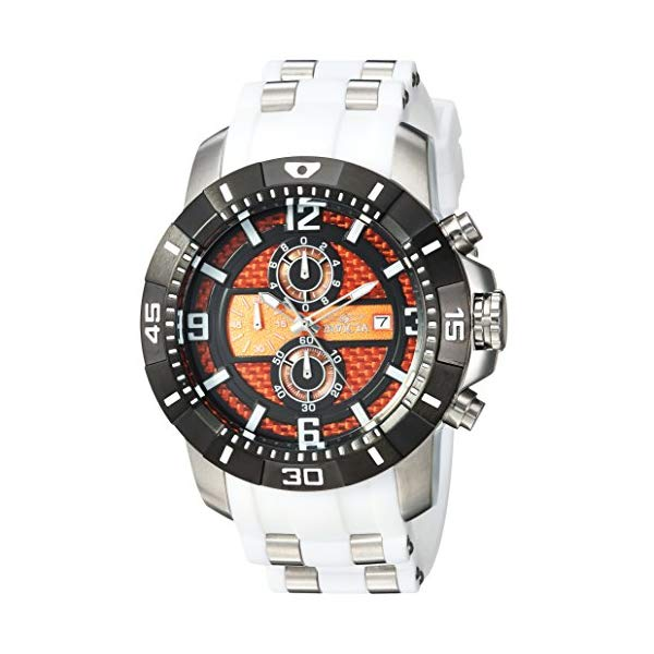 インビクタ 腕時計 INVICTA インヴィクタ 時計 プロダイバー Invicta Men's 'Pro Diver' Quartz Stainless Steel Casual Watch, Color White (Model: 24964)