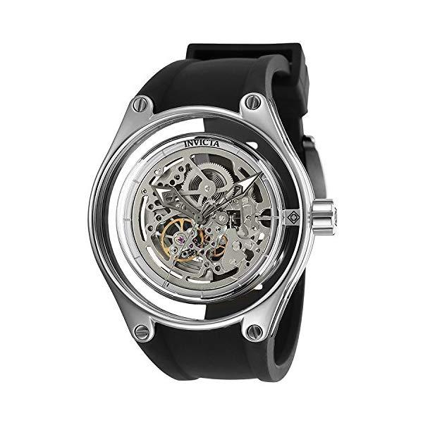 インビクタ 腕時計 INVICTA インヴィクタ 時計 Invicta Men's 25113 Anatomic Automatic 3 Hand Silver Dial Watch