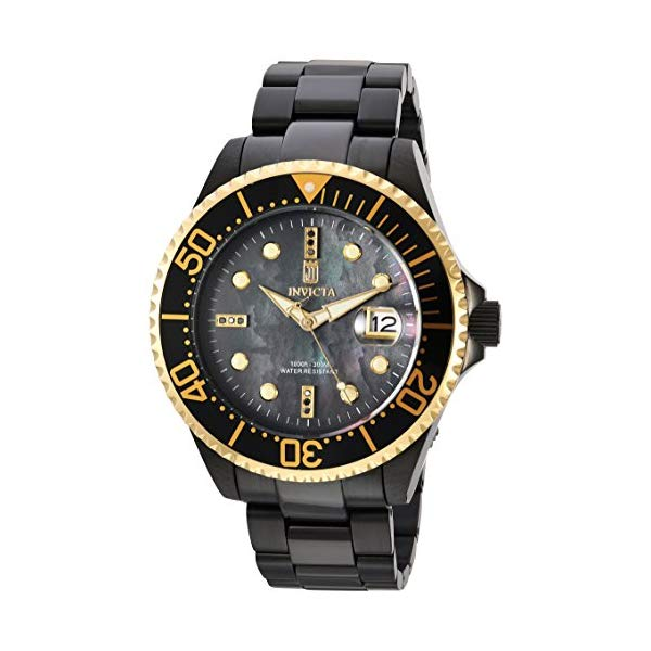 インビクタ 腕時計 INVICTA インヴィクタ 時計 Invicta Men's 'JT' Automatic Stainless Steel Casual Watch, Color:Black (Model: 23716)