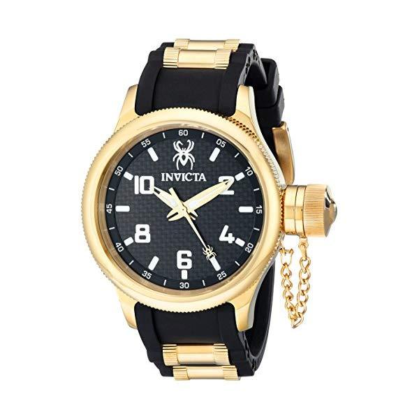 インビクタ 腕時計 INVICTA インヴィクタ 時計 ロシアンダイバー Invicta Men's 17946 Russian Diver Analog Display Swiss Quartz Black Watch