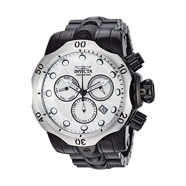 インビクタ 腕時計 INVICTA インヴィクタ 時計 ベノム Invicta Men's 'Venom' Quartz Stainless Steel Casual Watch, Color:Black (Model: 23898)