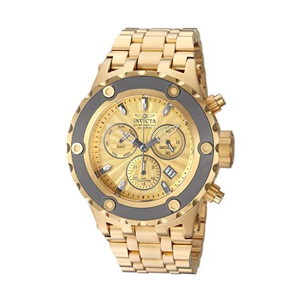 インビクタ 腕時計 INVICTA インヴィクタ 時計 サブアクア Invicta Men's 'Subaqua' Quartz Stainless Steel Casual Watch, Color:Gold-Toned (Model: 23922)