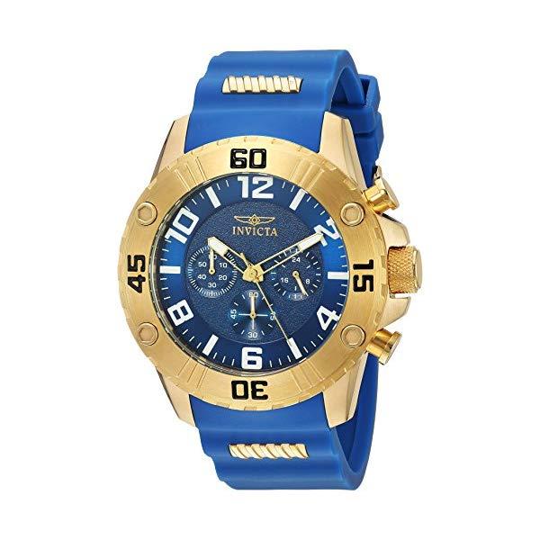 インビクタ 腕時計 INVICTA インヴィクタ 時計 プロダイバー Invicta Men's 'Pro Diver' Quartz Stainless Steel and Silicone Casual Watch, Color:Blue (Model: 22699)