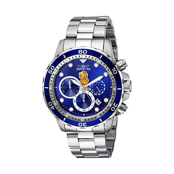 インビクタ 腕時計 INVICTA インヴィクタ 時計 ガーフィールド Invicta Men's 'Garfield Collection' Quartz Stainless Steel Casual Watch