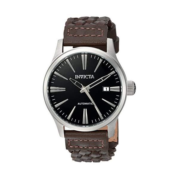 インビクタ 腕時計 INVICTA インヴィクタ 時計 フォース Invicta Men's 'I-Force' Automatic Stainless Steel and Leather Casual Watch, Color Brown (Model: 22947)