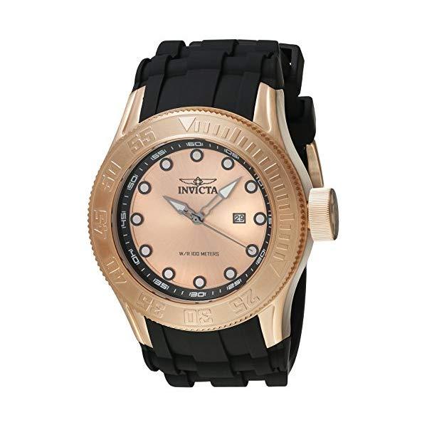 インビクタ 腕時計 INVICTA インヴィクタ 時計 プロダイバー Invicta Men's 'Pro Diver' Quartz Stainless Steel and Silicone Casual Watch, Color:Black (Model: 22247)