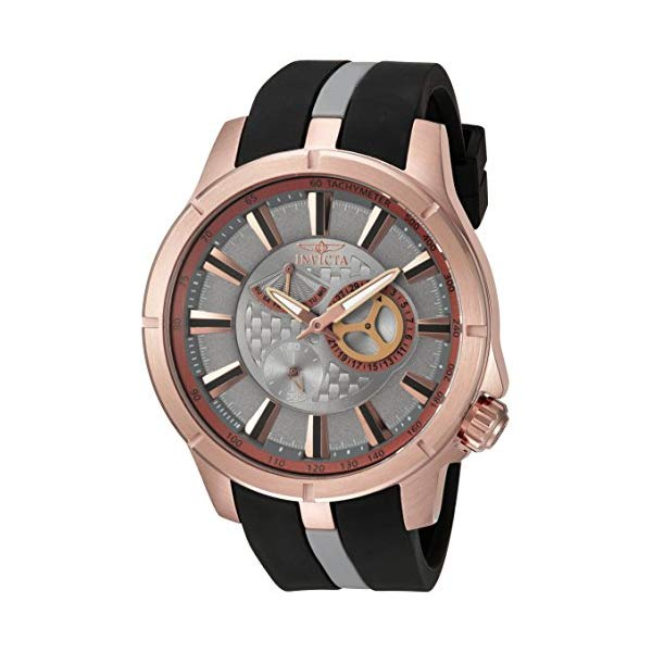 インビクタ 腕時計 INVICTA インヴィクタ 時計 エスワン ラリー Invicta Men's 'S1 Rally' Quartz Stainless Steel and Polyurethane Casual Watch, Color:Two Tone (Model: 20334)