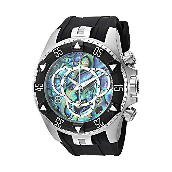 インビクタ 腕時計 INVICTA インヴィクタ 時計 エクスカーション Invicta Men's 'Excursion' Quartz Stainless Steel and Silicone Casual Watch, Color:Two Tone (Model: 25016)