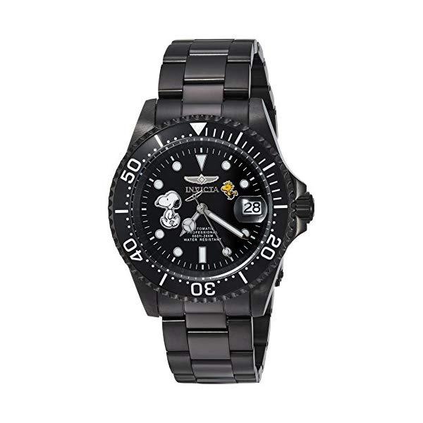 インビクタ 腕時計 INVICTA インヴィクタ 時計 Invicta Men's Automatic Stainless Steel Casual Watch, Color Black (Model: 24787)