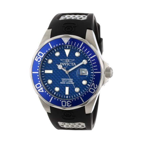 インビクタ 腕時計 INVICTA インヴィクタ 時計 プロダイバー Invicta Men's 12559 Pro Diver Blue Carbon Fiber Dial Black Polyurethane Watch