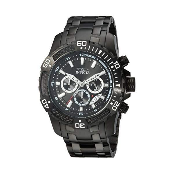 インビクタ 腕時計 INVICTA インヴィクタ 時計 プロダイバー Invicta Men's 'Pro Diver' Quartz Stainless Steel Casual Watch, Color:Black (Model: 24858)