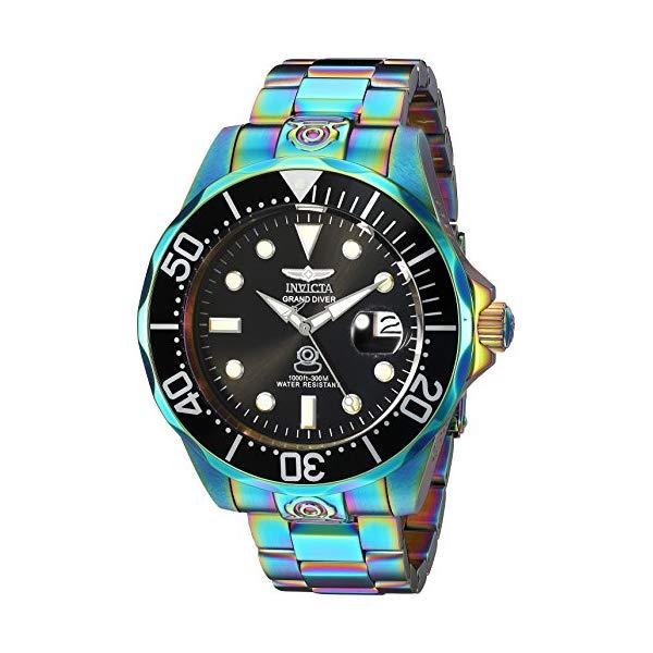 インビクタ 腕時計 INVICTA インヴィクタ 時計 プロダイバー Invicta Men's 'Pro Diver' Automatic Stainless Steel Diving WatchMulti Color (Model: 26601)