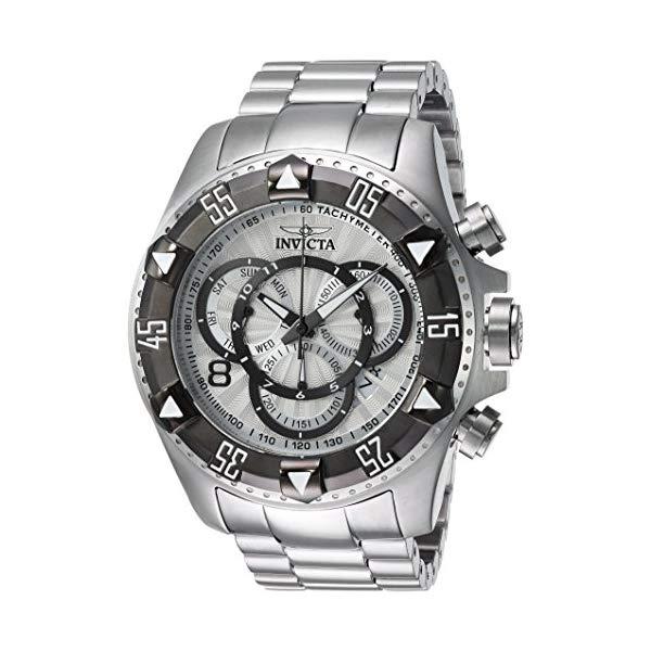 インビクタ 腕時計 INVICTA インヴィクタ 時計 エクスカーション Invicta Men's 'Excursion' Quartz Titanium and Stainless Steel Casual Watch, Color:Silver-Toned (Model: 24262)