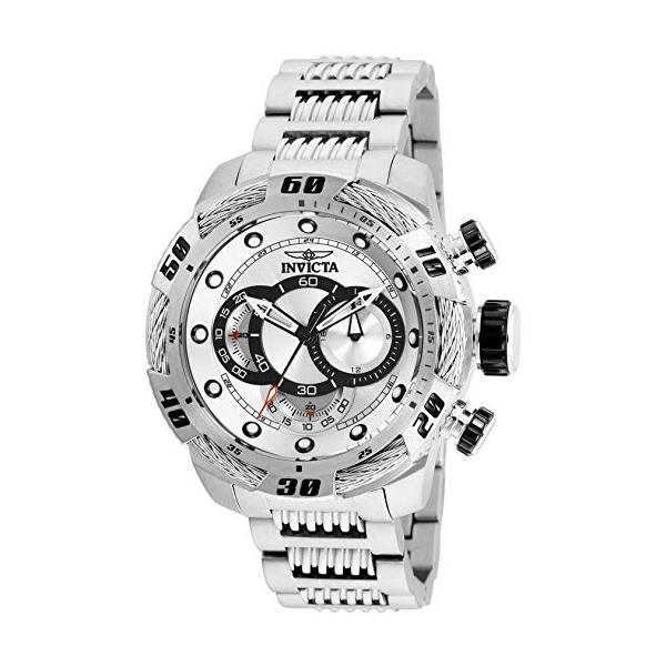 インビクタ 腕時計 INVICTA インヴィクタ 時計 スピードウェイ Invicta Men's 25479 Speedway Quartz Multifunction Silver Dial Watch