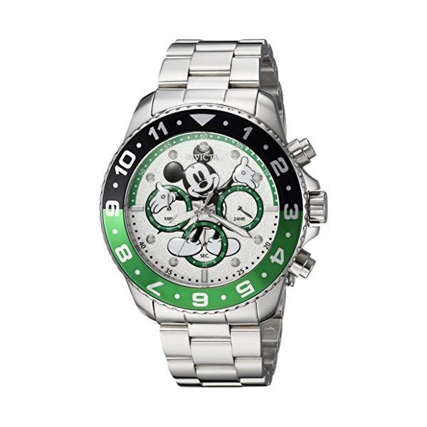 インビクタ 腕時計 INVICTA インヴィクタ 時計 ディズニー リミテッド エディション ミッキー Invicta Men's 'Disney Limited Edition' Quartz Stainless Steel Casual Watch, Color:Silver-Toned (Model: 24953)