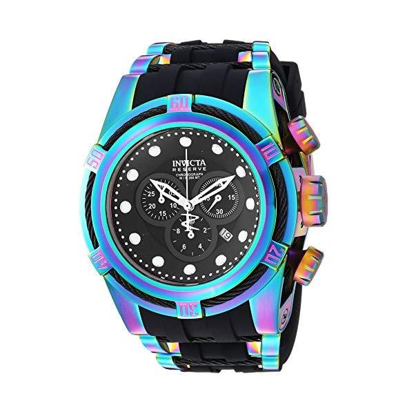 インビクタ 腕時計 INVICTA インヴィクタ 時計 ボルト Invicta Men's 'Bolt' Quartz Stainless Steel Casual Watch, Color Black (Model: 22841)