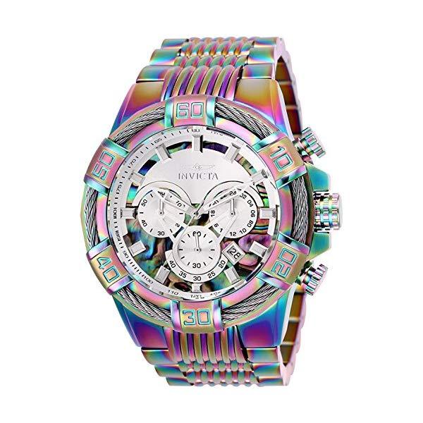 インビクタ 腕時計 INVICTA インヴィクタ 時計 ボルト Invicta Men's 25545 Bolt Quartz Chronograph Rainbow Dial Watch