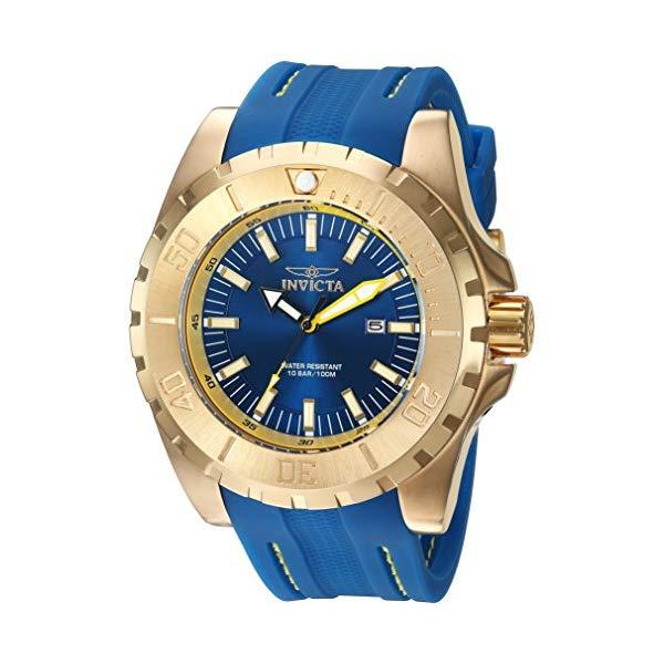 インビクタ 腕時計 INVICTA インヴィクタ 時計 プロダイバー Invicta Men's 'Pro Diver' Quartz Stainless Steel and Polyurethane Casual Watch, Color:Blue (Model: 23736)