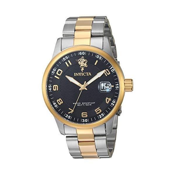 インビクタ 腕時計 INVICTA インヴィクタ 時計 シーベース Invicta Men's 'Sea Base' Quartz Stainless Steel Casual Watch, Color Two Tone (Model: 17915)