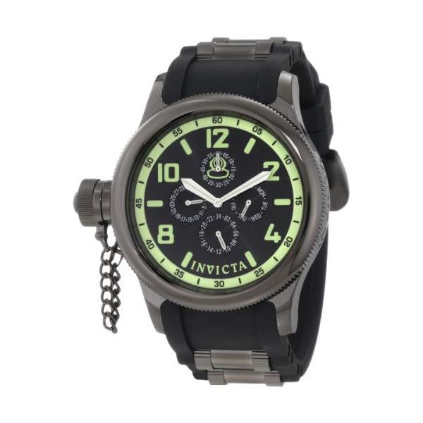 インビクタ 腕時計 INVICTA インヴィクタ 時計 ロシアンダイバー Invicta Men's 1805 Russian Diver Black Dial Sport Watch