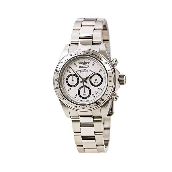 インビクタ 腕時計 INVICTA インヴィクタ 時計 シグネチャー Invicta Men's 7025 Signature Quartz Chronograph White Dial Watch