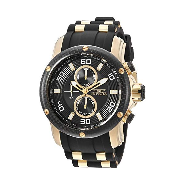 インビクタ 腕時計 INVICTA インヴィクタ 時計 プロダイバー Invicta Men's 'Pro Diver' Quartz Stainless Steel and Polyurethane Casual Watch, Color:Two Tone (Model: 24151)