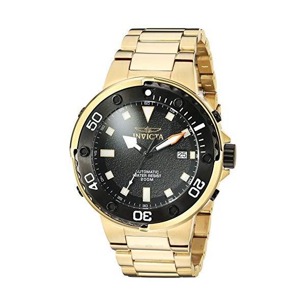 インビクタ 腕時計 INVICTA インヴィクタ 時計 プロダイバー Invicta Men's 'Pro Diver' Automatic Stainless Steel Diving Watch, Color:Gold-Toned (Model: 24467)