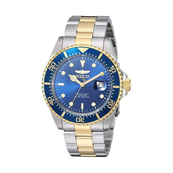 インビクタ 腕時計 INVICTA インヴィクタ 時計 プロダイバー Invicta Men's 'Pro Diver' Quartz Stainless Steel Casual Watch, Color:Two Tone (Model: 22058)