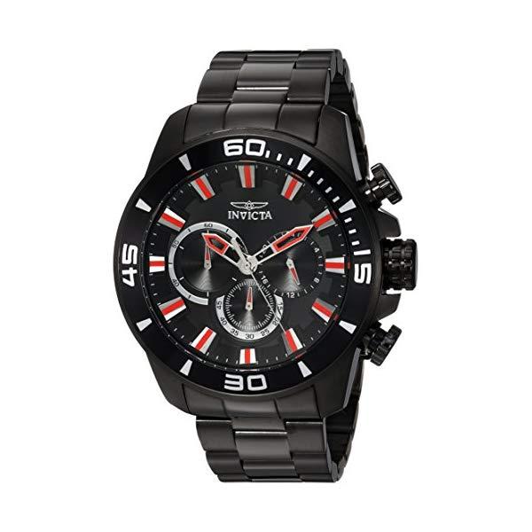 インビクタ 腕時計 INVICTA インヴィクタ 時計 プロダイバー Invicta Men's 'Pro Diver' Quartz Stainless Steel Casual Watch, Color Black (Model: 22593)