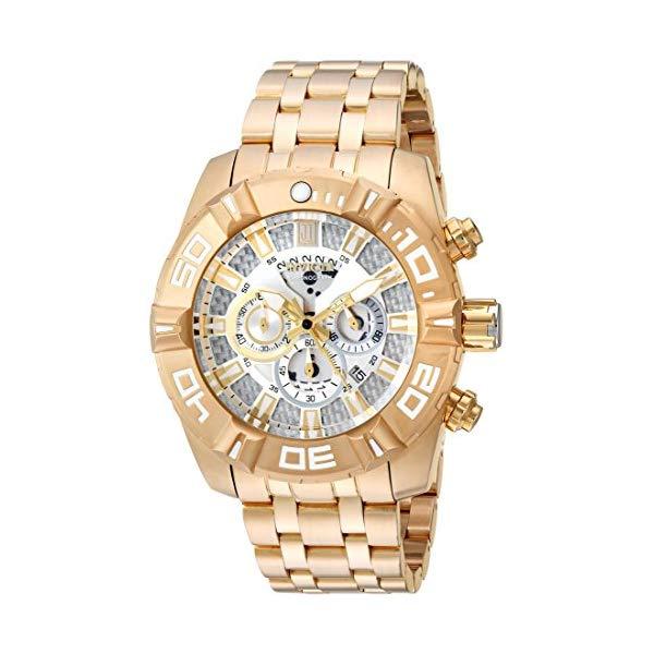 インビクタ 腕時計 INVICTA インヴィクタ 時計 ジェイソン テイラー Invicta Men's 'JT' Quartz Stainless Steel Casual Watch, Color:Silver-Toned (Model: 24846)