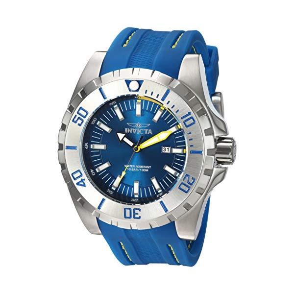 インビクタ 腕時計 INVICTA インヴィクタ 時計 プロダイバー Invicta Men's 'Pro Diver' Quartz Stainless Steel and Polyurethane Casual Watch, Color:Blue (Model: 23733)