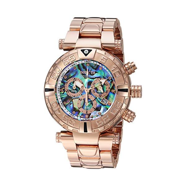 インビクタ 腕時計 INVICTA インヴィクタ 時計 サブアクア Invicta Men's 'Subaqua' Quartz Stainless Steel Casual Watch, Color Rose Gold-Toned (Model: 23647)