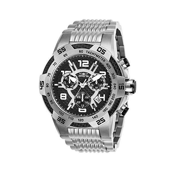 インビクタ 腕時計 INVICTA インヴィクタ 時計 スピードウェイ Invicta Mens Speedway Quartz Chronograph Stainless Steel Swiss Watch - Model 25285