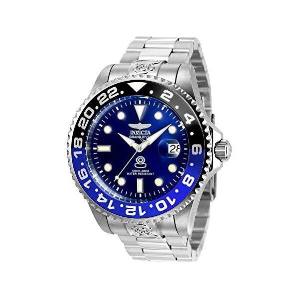 インビクタ 腕時計 INVICTA インヴィクタ プロダイバー メンズ 男性用 21865 Invicta Men's Pro Diver Automatic-self-Wind Diving Watch with Stainless-Steel Strap, Silver, 20 (Model: 21865)