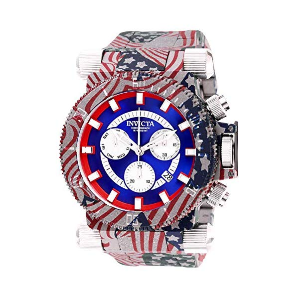 インビクタ 腕時計 INVICTA インヴィクタ フォース フォース メンズ 男性用 26642 Invicta Men's Coalition Forces Quartz Watch with Stainless Steel Strap, Multicolor, 34.5 (Model: 26642)