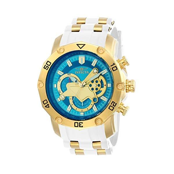 インビクタ 腕時計 INVICTA インヴィクタ プロダイバー メンズ 男性用 23423 Invicta Men's Pro Diver Stainless Steel Quartz Watch with Silicone Strap, White, 26