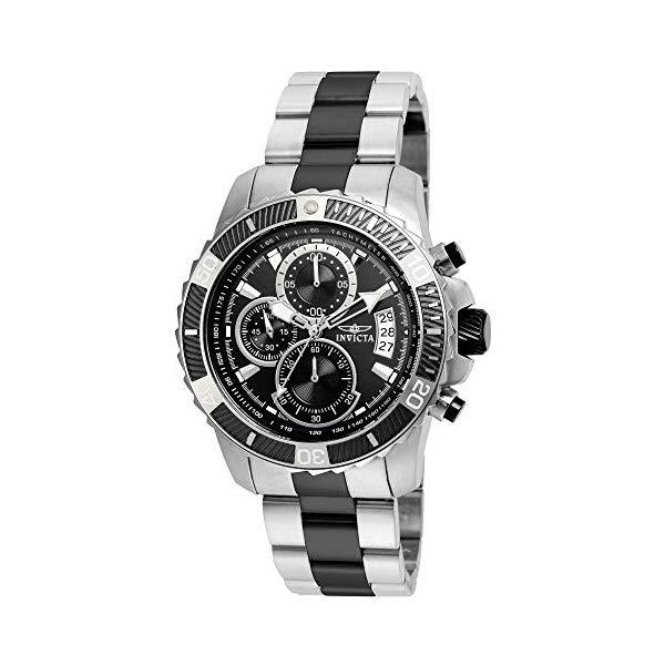 インビクタ 腕時計 INVICTA インヴィクタ プロダイバー メンズ 男性用 22416 Invicta Men's Pro Diver Quartz Watch with Stainless-Steel Strap, Two Tone, 22 (Model: 22416)