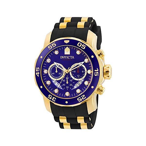 インビクタ 腕時計 INVICTA インヴィクタ プロダイバー メンズ 男性用 6983 Invicta Men's 6983 Pro Diver Collection Chronograph Blue Dial Black Polyurethane Watch