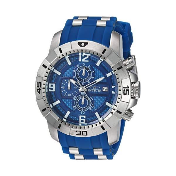 インビクタ 腕時計 INVICTA インヴィクタ プロダイバー メンズ 男性用 24963 Invicta Men's Pro Diver Quartz Watch with Stainless-Steel Strap, Blue, 26 (Model: 24963)