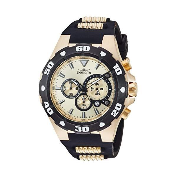インビクタ 腕時計 INVICTA インヴィクタ プロダイバー メンズ 男性用 24682 Invicta Men's Pro Diver Stainless Steel Quartz Watch with Silicone Strap, Two Tone, 0.92 (Model: 24682)