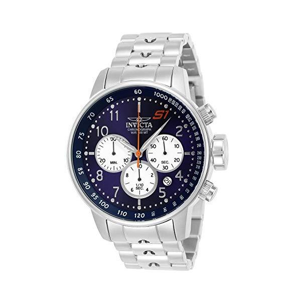 インビクタ 腕時計 INVICTA インヴィクタ S1ラリー メンズ 男性用 23080 Invicta Men's S1 Rally Quartz Watch with Stainless-Steel Strap, Silver, 22 (Model: 23080)