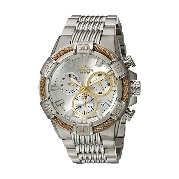 インビクタ 腕時計 INVICTA インヴィクタ ボルト メンズ 男性用 25863 Invicta Men's Bolt Quartz Watch with Two-Tone-Stainless-Steel Strap, 16 (Model: 25864 & 25513)