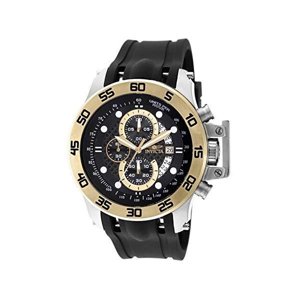 インビクタ 腕時計 INVICTA インヴィクタ フォース メンズ 男性用 19253 Invicta Men's 19253 I-Force 18k Gold Ion-Plated Stainless Steel Watch