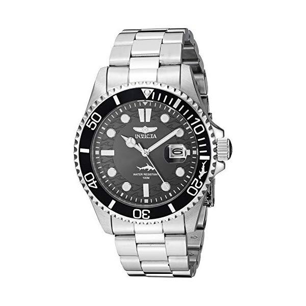 インビクタ 腕時計 INVICTA インヴィクタ プロダイバー メンズ 男性用 30018 Invicta Men's Pro Diver Quartz Watch with Stainless Steel Strap, Silver, 22 (Model: 30018)