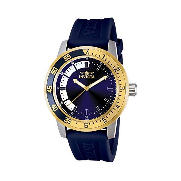 インビクタ 腕時計 INVICTA インヴィクタ スペシャリティ メンズ 男性用 12847 Invicta Men's 12847 Specialty Stainless Steel Watch with Blue Band