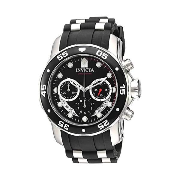 インビクタ 腕時計 INVICTA インヴィクタ プロダイバー メンズ 男性用 21927 Invicta Men's 'Pro Diver' Quartz Stainless Steel and Silicone Watch, Color:Black (Model: 21927)